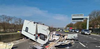 Police share devestating images showing the aftermath of caravan crash - Police News