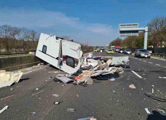 Police share devestating images showing the aftermath of caravan crash - Police News