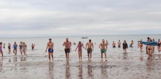Chilly dippers at Portobello-Scottish News