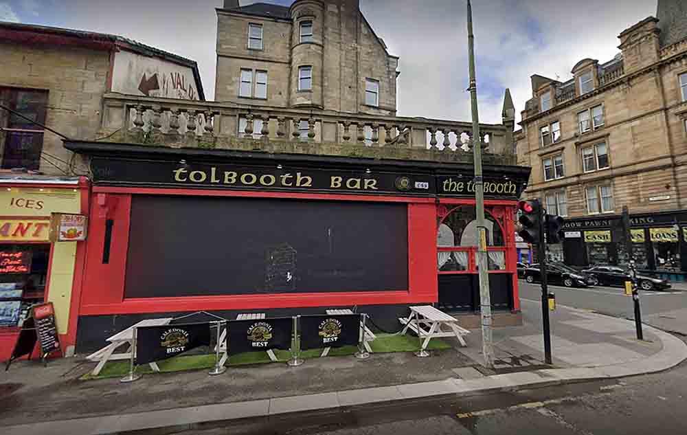 Pictures show glaswegian beer garden - Scottish News