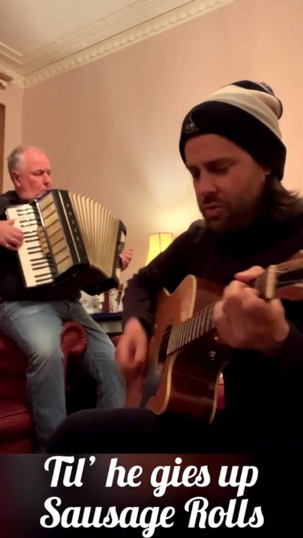 Hilarious Robert MacIntyre song | Scottish News