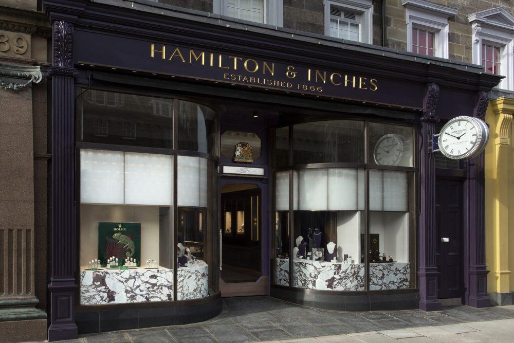 Hamilton & Inches - exterior - Consumer News Scotland