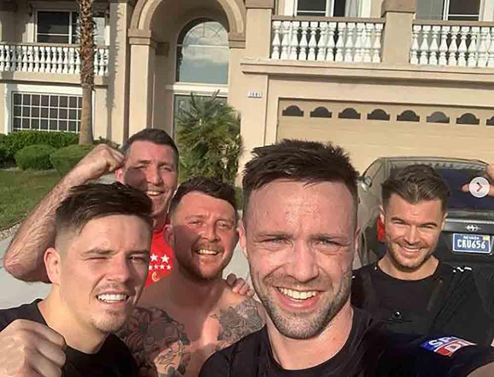 Josh Taylor showcases lavish Las Vegas lifestyle - Scottish News