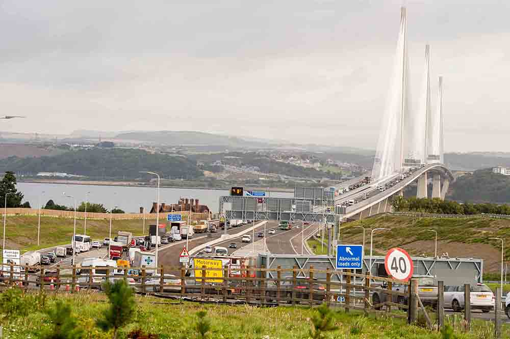 More than 20 motorists hit by falling debris or ice on Queensferry crossing - Scottish News