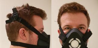Researcher wearing a reusable mask - Coronavirus News Scotland