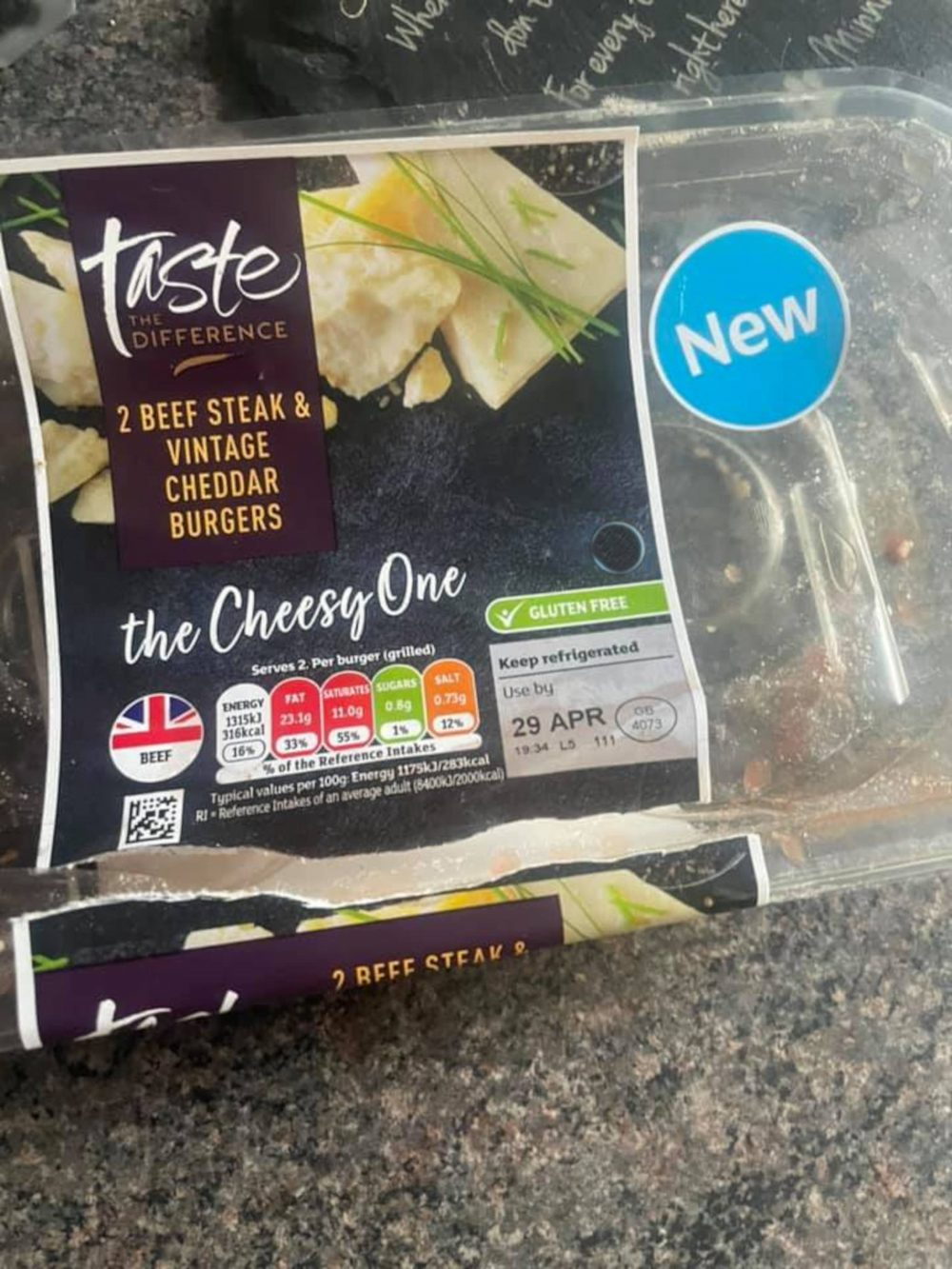 Sainsburys mush burger | Food and Drink News UK