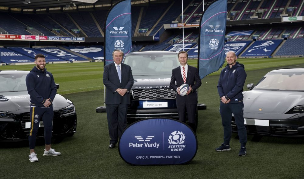 Peter Vardy Group partners with Scottish national Rugby team - Business News Scotland