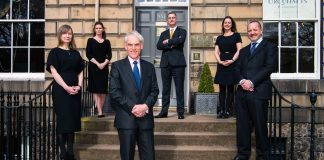 Roderick Urquhart, retires from the law firm founded by his great grandfather