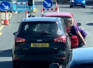 Woman spits on car | Transport News UK