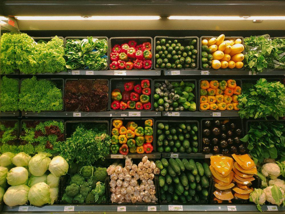 Inside of a grocer