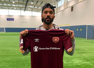 Hearts defender Shay Logan | Hearts news