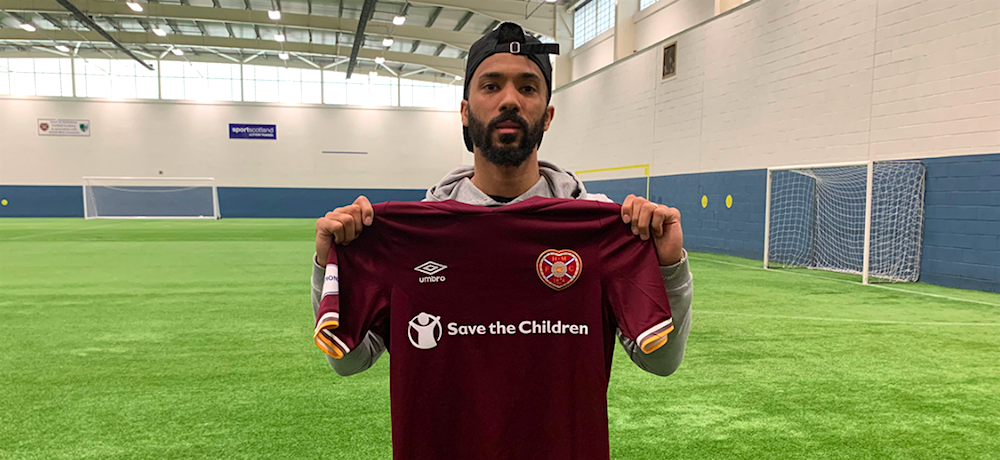 Hearts defender Shay Logan | Hearts news