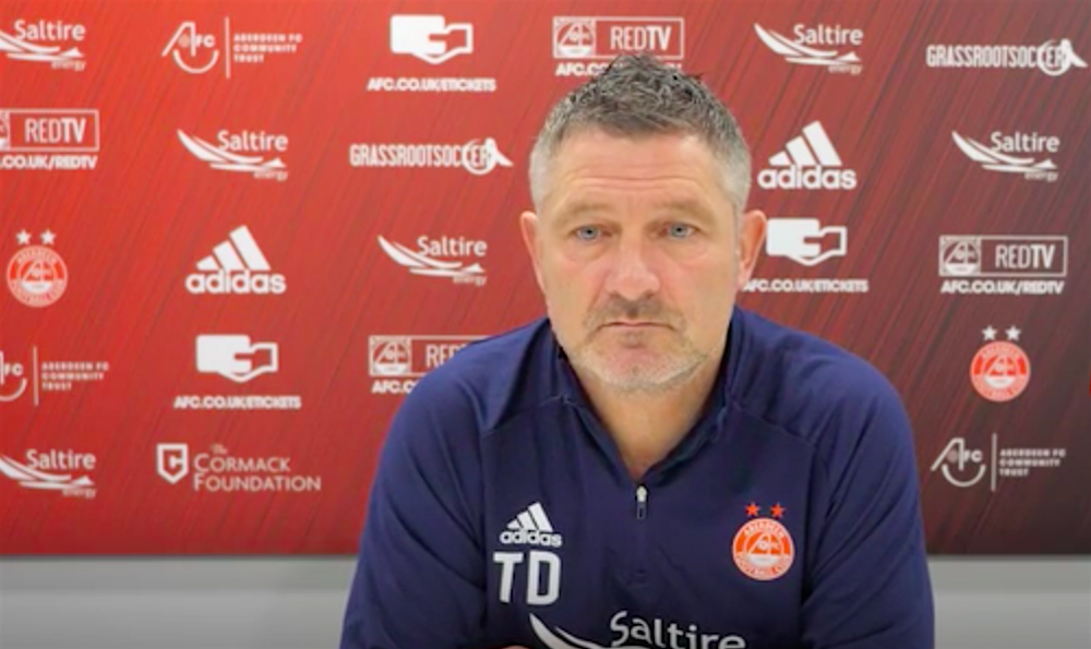 Former Aberdeen assistant Tony Docherty | Aberdeen news