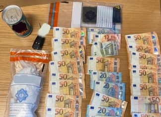 The drugs and money found in the fake bean tin - Police News