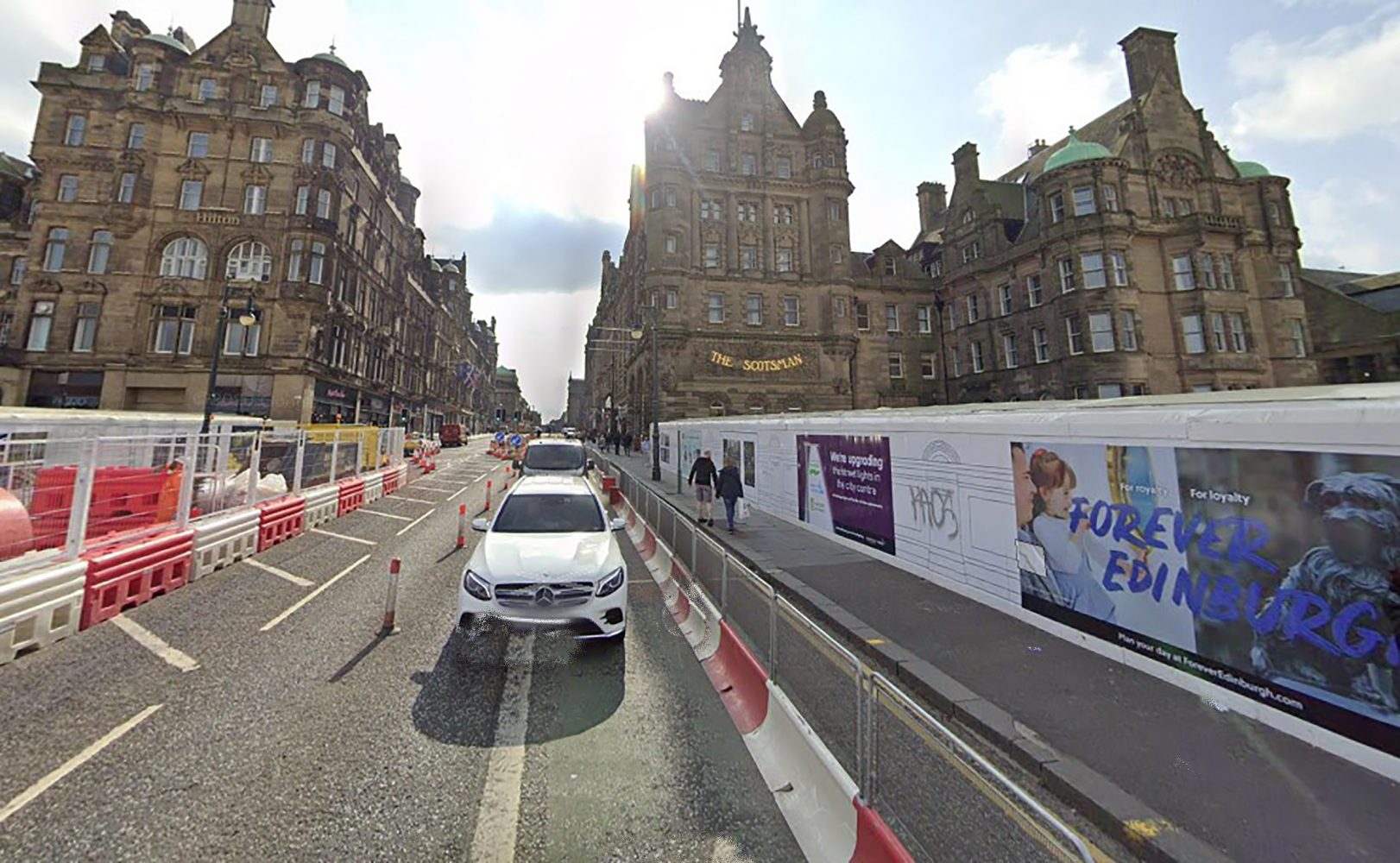 The busy city centre street that the ambulance couldn't pass - Scottish Traffic News