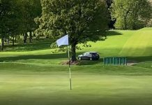 Car on Golf Course - Scottish News