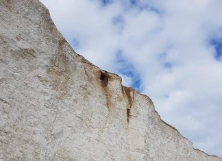 Birling Gap Cliff at risk of collapse | UK News