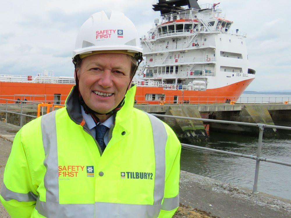 forth ports ceo Charles Hammond  Scottish News