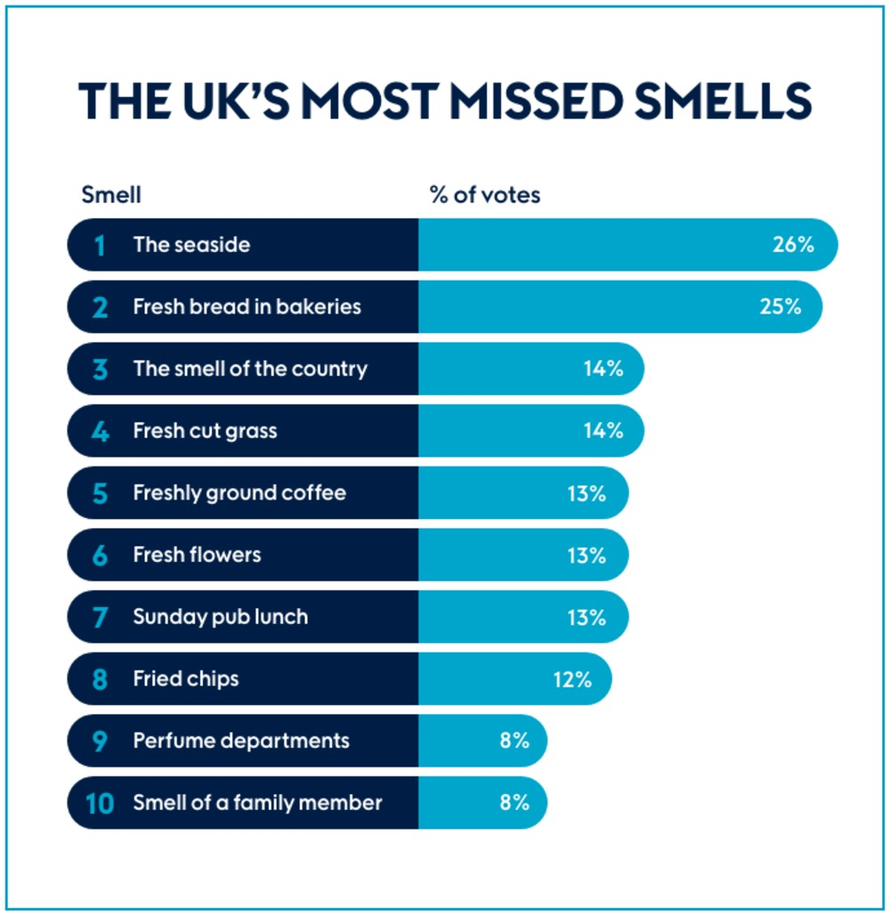 UKs missed smells - Research News Scotland