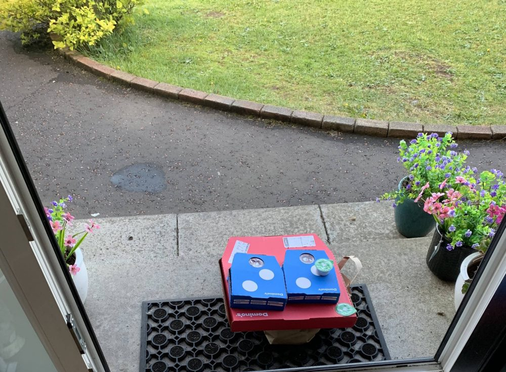 Drunk student missed Dominos delivery | Food and Drink News UK