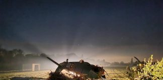 the aftermath of a historic Hawker Sea Fury aircraft crash| UK and world news