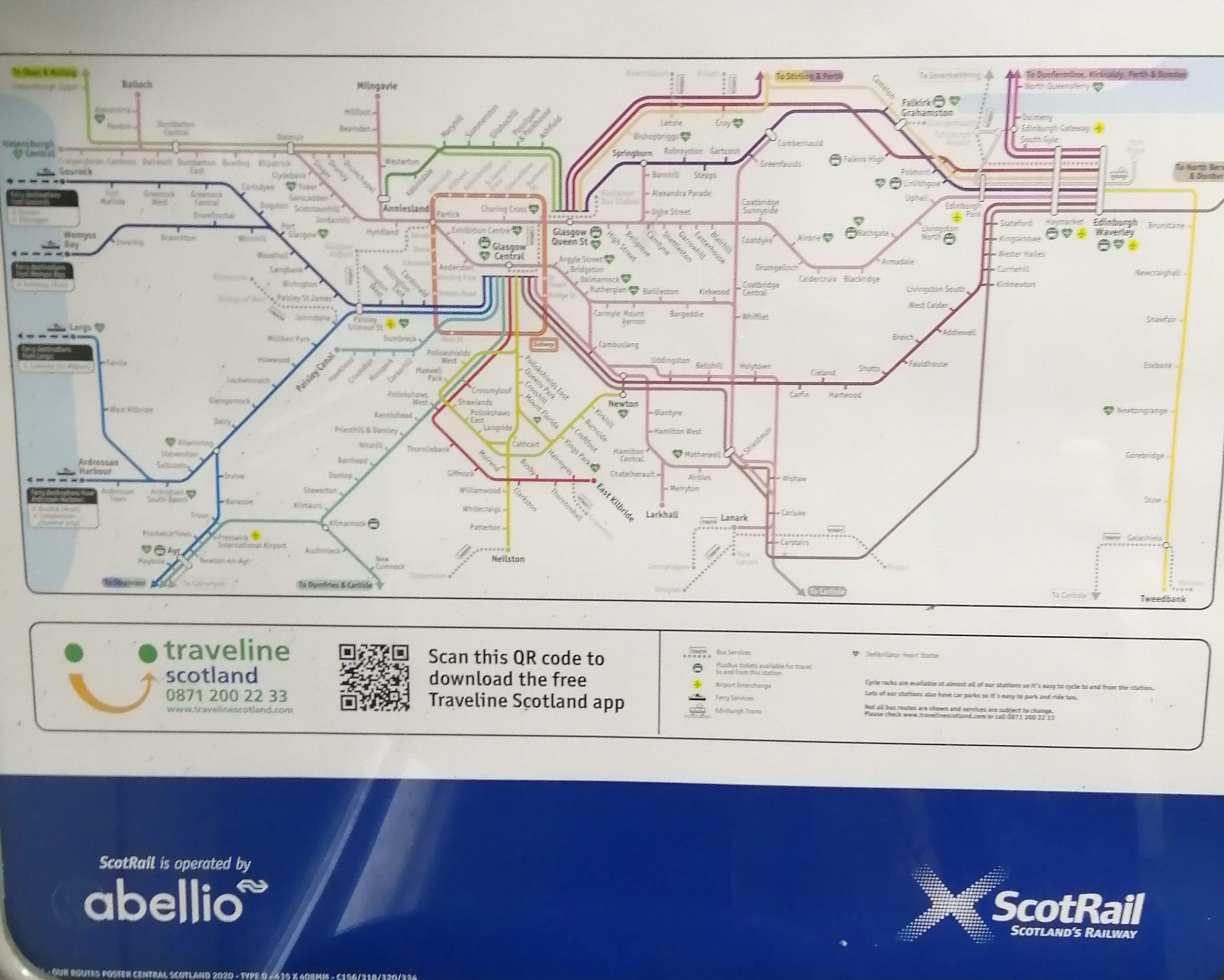 Train routes - Travel News Scotland