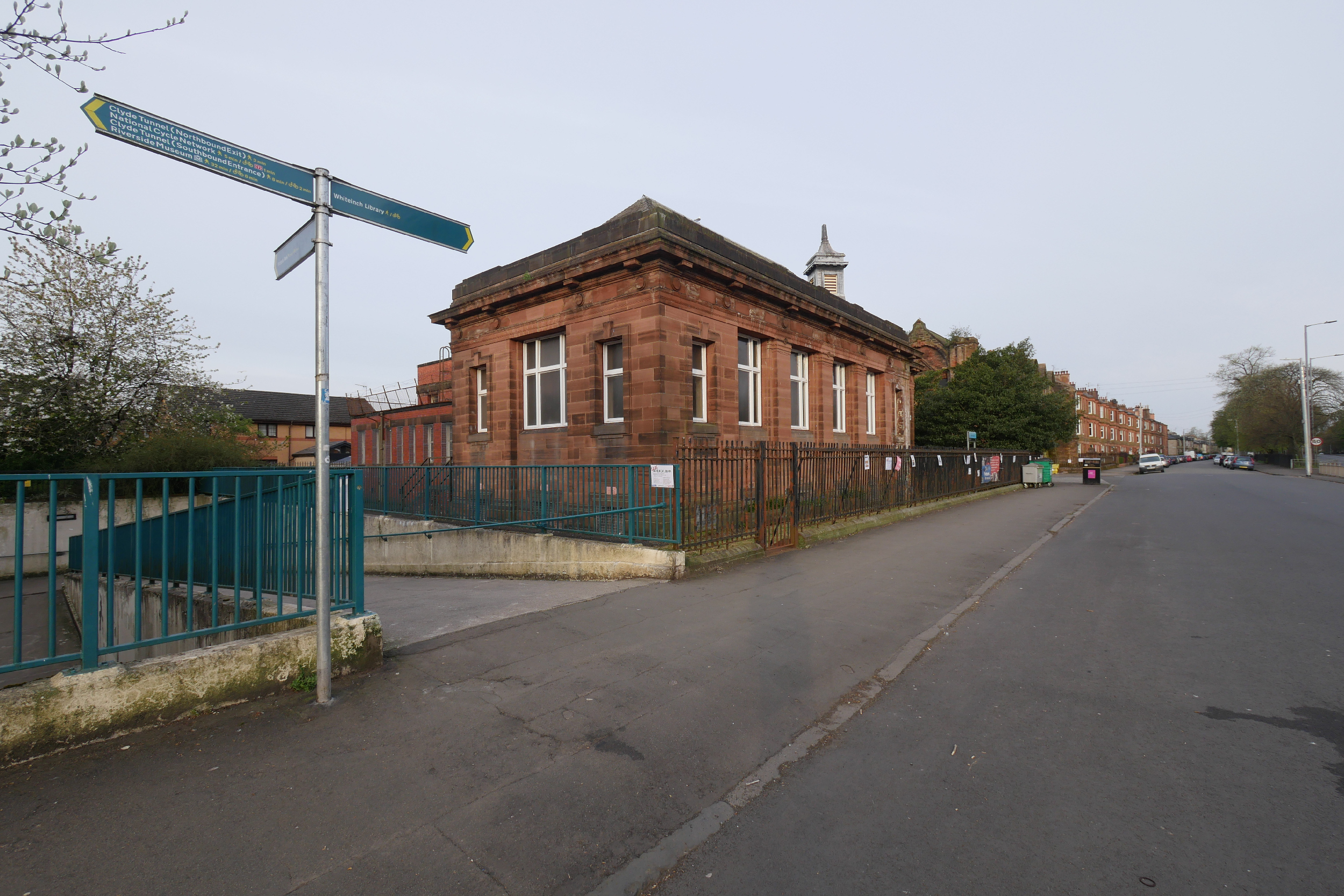 An image of Whiteinch library, Glasgow - Scottish News