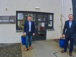 A picture of Adrian and Graeme Hendry who operate Avondale Care Scotland - Scottish News