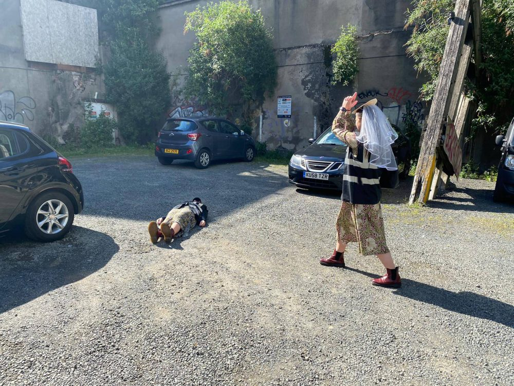 Hen party goers recreating Line of Duty scene | Marriage News UK