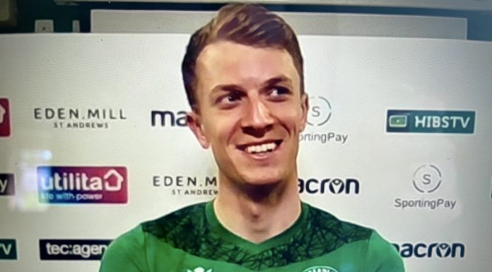 Matt Macey looks ahead to the Scottish Cup final   Hibs news