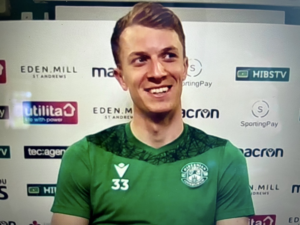 Matt Macey looks ahead to the Scottish Cup final | Hibs news