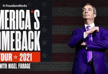 Nigel Farage US Show Advert | UK and World News
