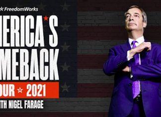 Nigel Farage US Show Advert   UK and World News