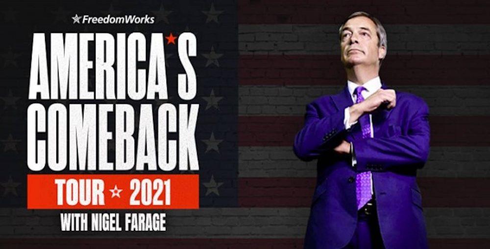 Nigel Farage US Show Advert | UK and World News