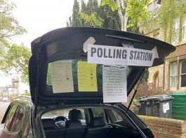 The odd polling place| Viral News