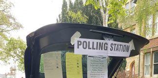 The odd polling place  Viral News