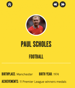Paul Scholes comes in at number one as top athlete - UK news