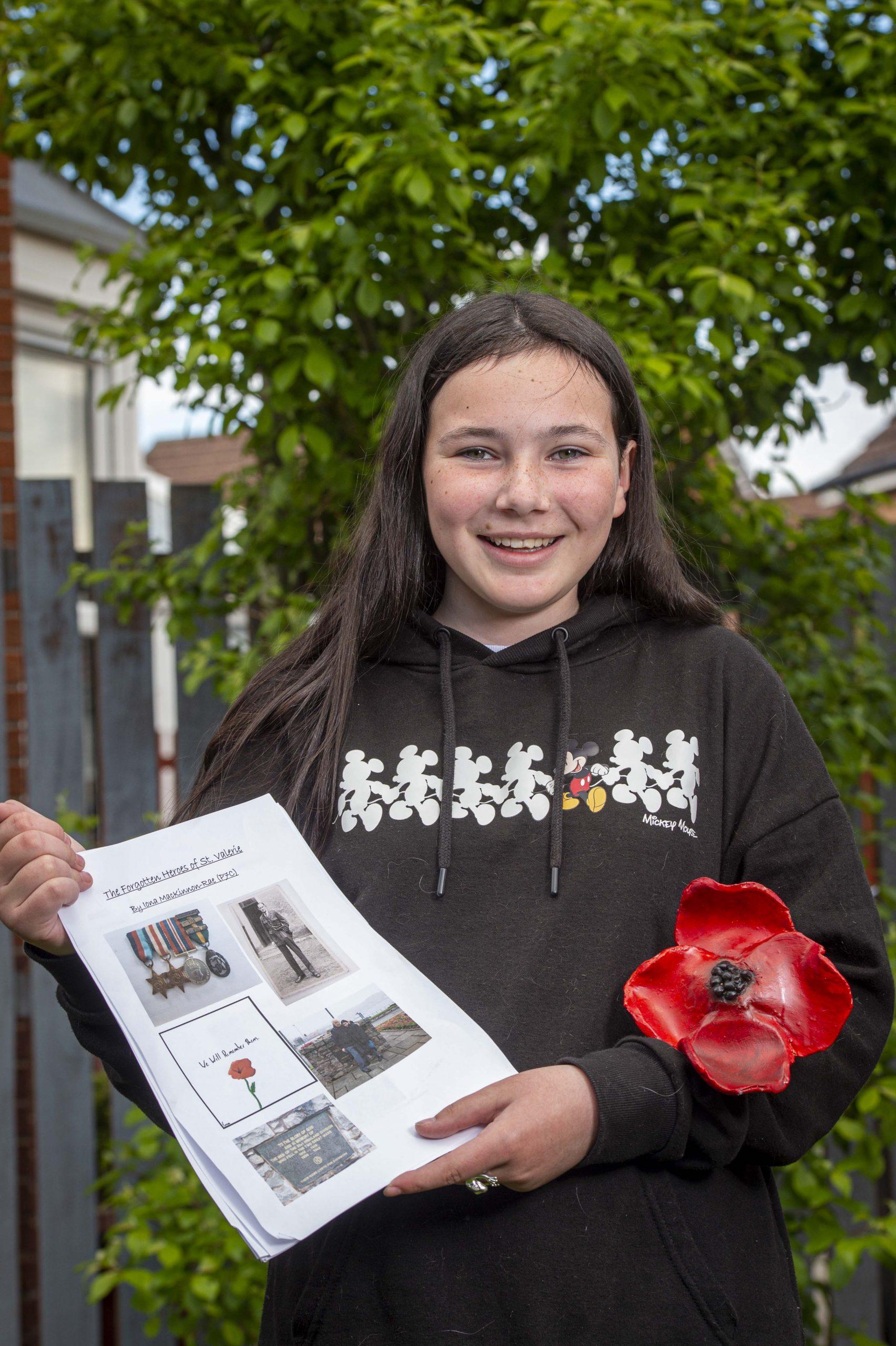 PoppyScotland_St Valery learning_Iona Mackinnon-Rae - Education News Scotland
