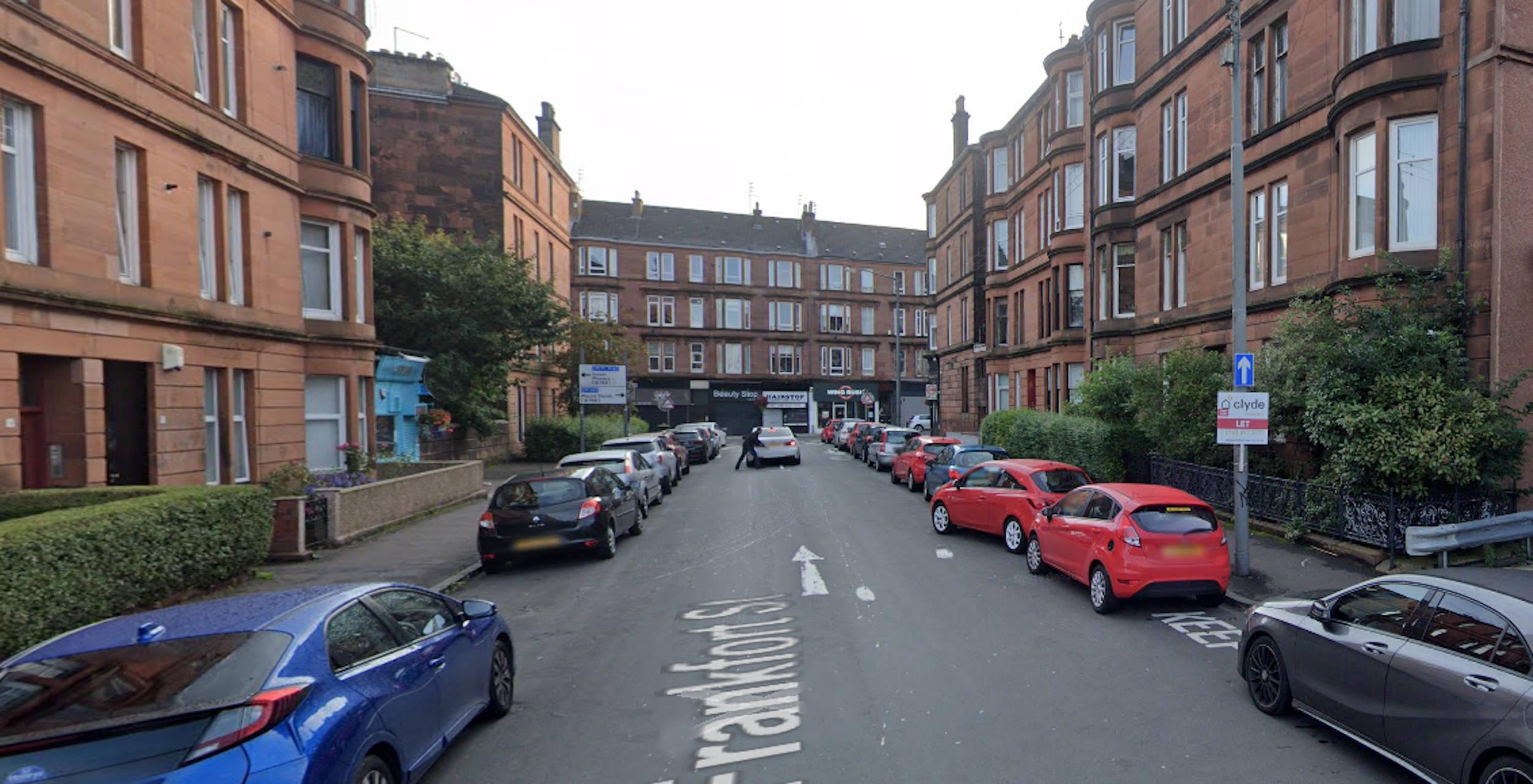 A view of Frankfort street Glasgow - Scottish Entertainment News