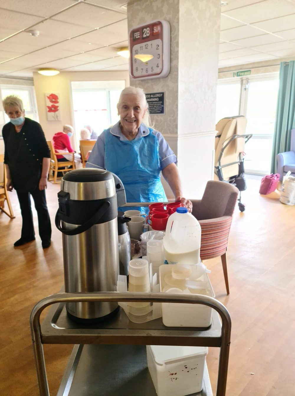 84 year old care volunteer | UK News