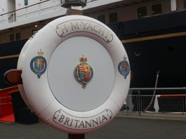 Royal Britannia located in leith| Uk and World