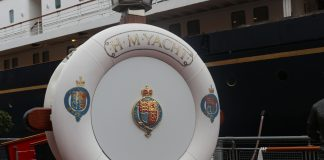 Royal Britannia located in leith  Uk and World