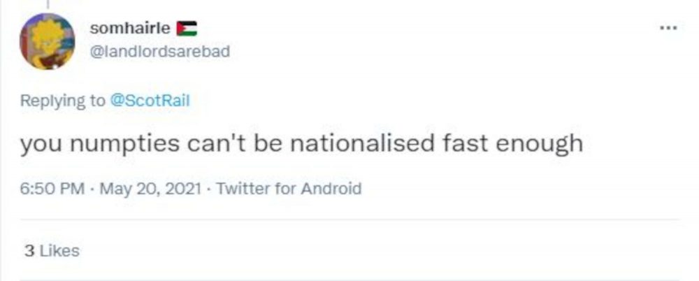ScotRail Nationalisation reply- Travel News UK