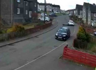 Hilarious video shows young Scottish lad hit car after losing control of quad - Scottish News