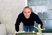 Scott Brown Celtic Cake | Scottish News