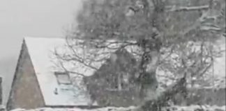 Snow in May in Scottish Highlands   Scottish Weather News