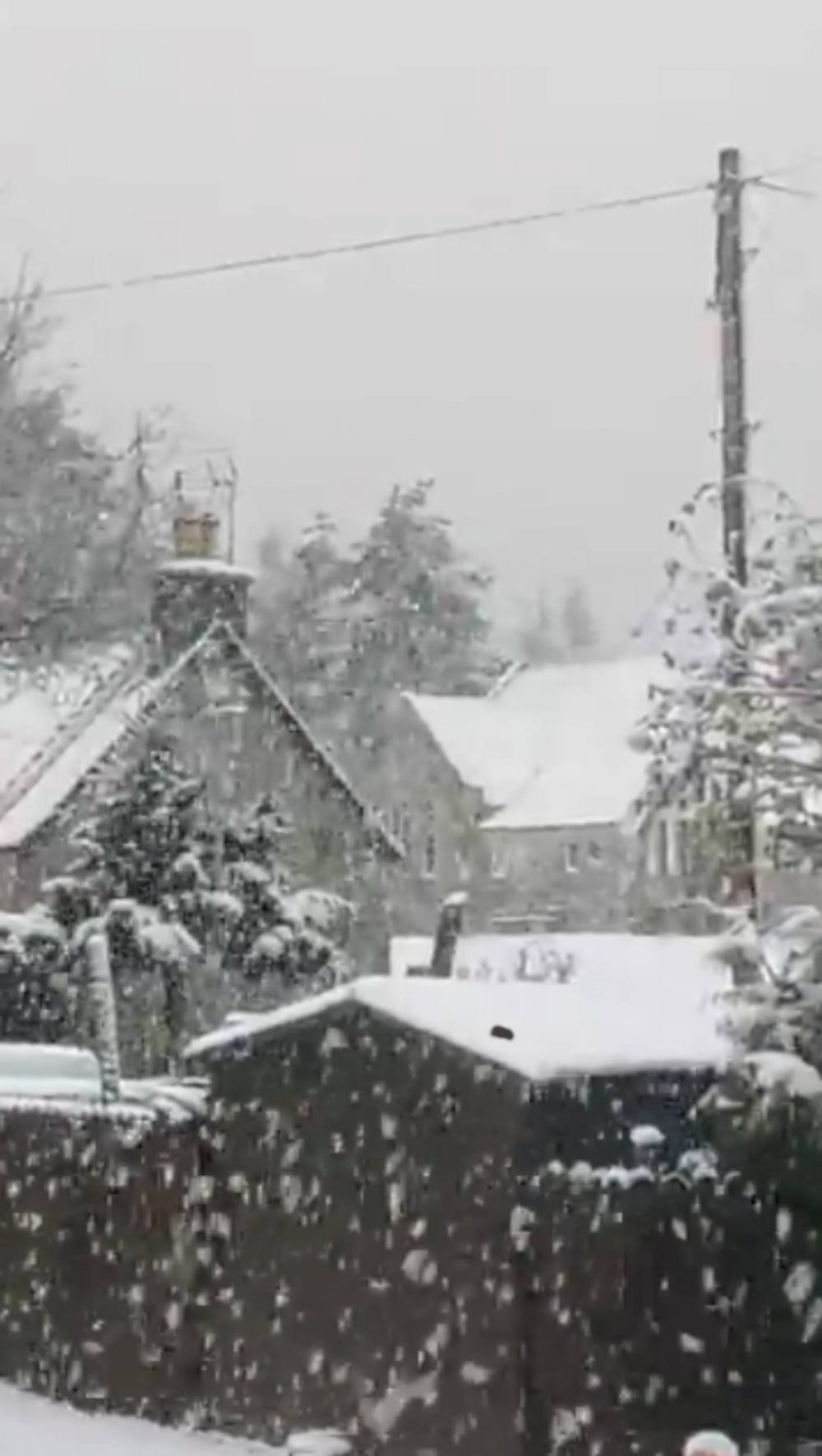 Snow in May in Scottish Highlands | Scottish Weather News