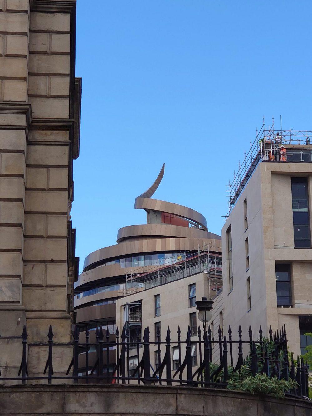 New one billion pound project St James Quarter almost finished Scottish News