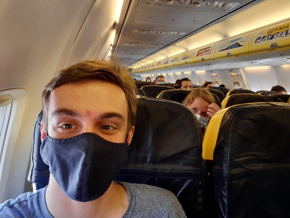 Albert Pearce on flight - Travel News UK