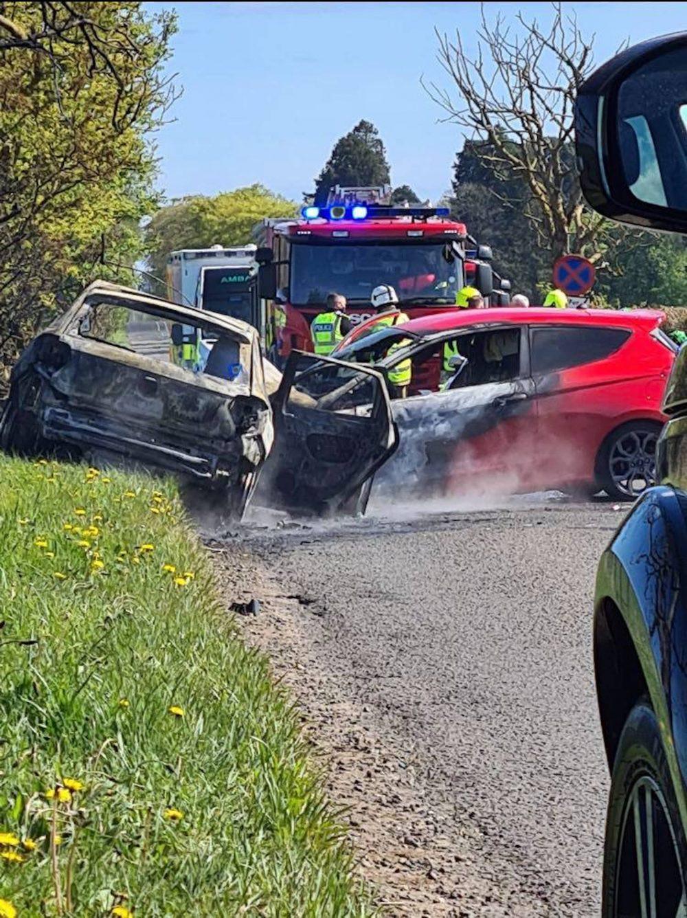 A933 Car Crash - Travel News Scotland